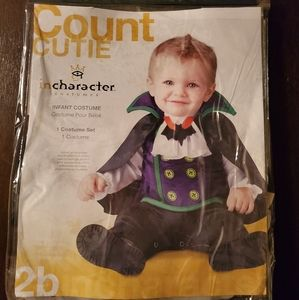 Count Dracula baby boy costume